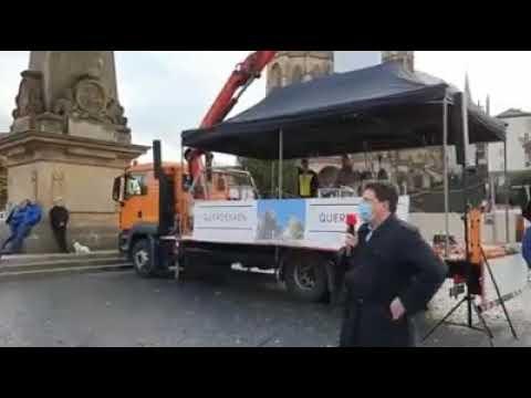Corona Demo Berlin - Klare Ansage